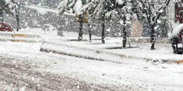 Konya'ya kar yağışı uyarısı