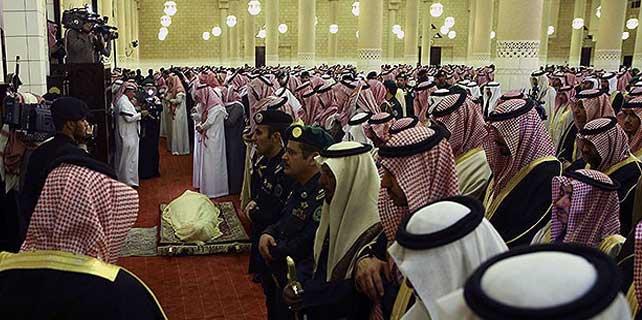 Kral Abdullah'ın cenaze namazı kılındı