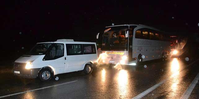Malatya-Kayseri karayolu ulaşıma kapandı