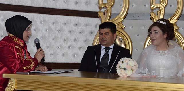 Meram'da 2014'te 2 bin 637 nikah kıyıldı