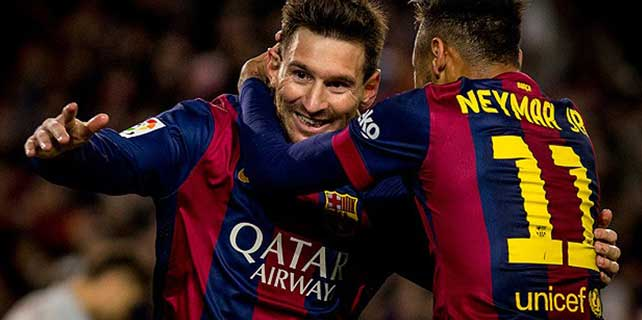Messi'den otuzuncu üçleme