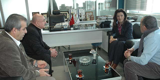 Milletvekili Türkmenoğlu'ndan gazetemize ziyaret