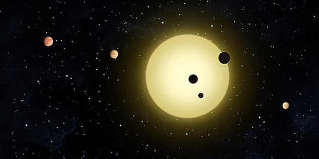 Minyatür güneş sistemi keşfedildi