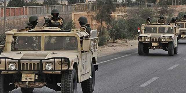 Mısır ordusunun operasyonlarında 10 kişi öldü