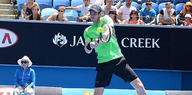 Murray yarı finale yükseldi