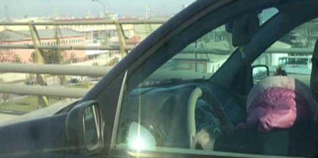 O sürücüye ceza