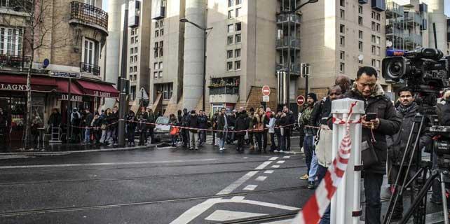 Paris'te çifte rehine krizi