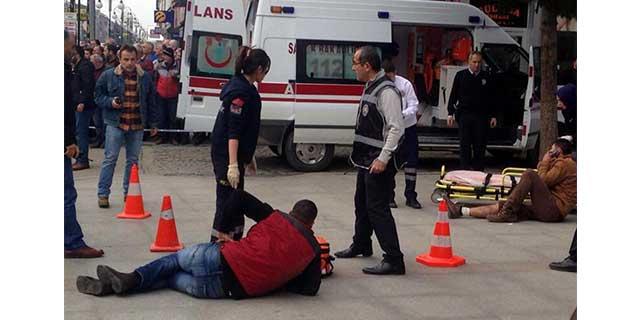 Rize'de silahlı kavga: 2 yaralı