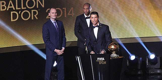 Ronaldo'dan 'Altın Top' değerlendirmesi