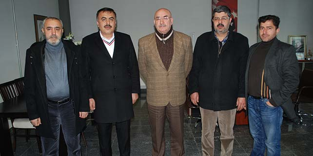 Saadet Partisi'nden gazetemize nezaket ziyareti
