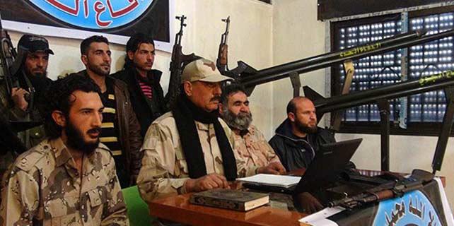 """Şam Cephesi """"Hava Savunma Birlikleri"""" kurdu"""