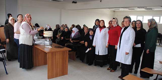 Sarayönü'nde 'Gıda kursu' tamamlandı