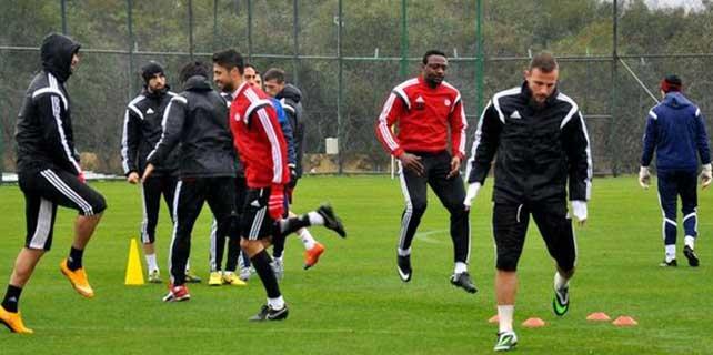 Sivasspor'un Antalya kampı sona erdi
