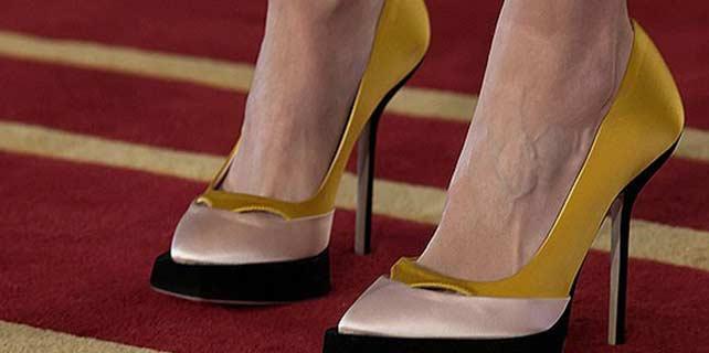 Topuklu ayakkabılara dikkat