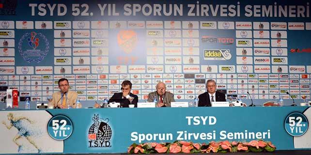 TSYD 52. Yıl Sporun Zirvesi Semineri