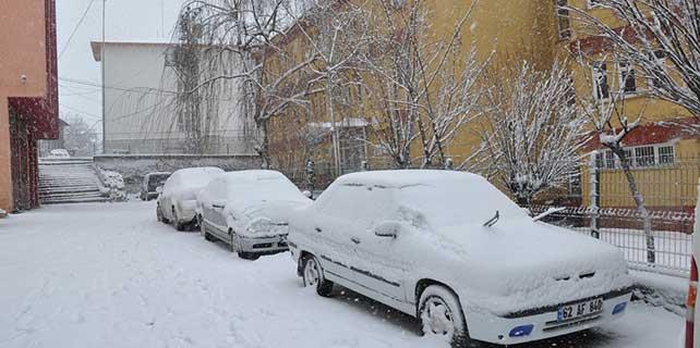 Tunceli'de 323 köy yolu ulaşıma kapandı