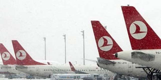 Türk Hava Yolları 44 seferini iptal etti