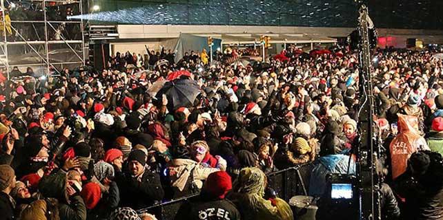 Türkiye'de yeni yıl coşkusu