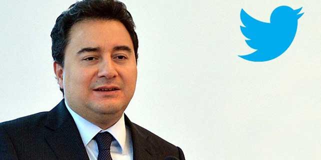 """Twitter'da sahte """"Ali Babacan"""" hesabı uyarısı"""