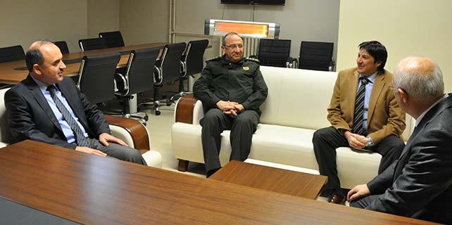 Vali Erol'dan , Konya Basın Konseyine ziyaret