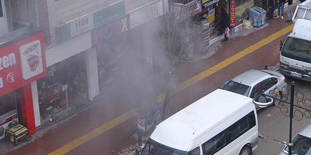 Van'da trafo patlaması