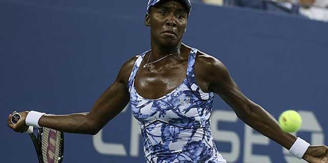 Venus Williams 5 yıl sonra çeyrek finale çıktı