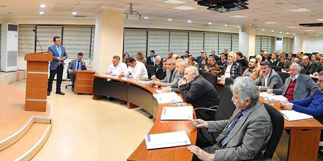 Yapı kooperatifçileri KTO'da bir araya geldi