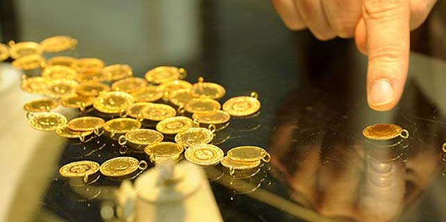 Yastık altında 3 bin 500 ton altın