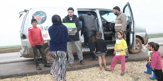 24 bin Suriyeli aileye gıda yardımı