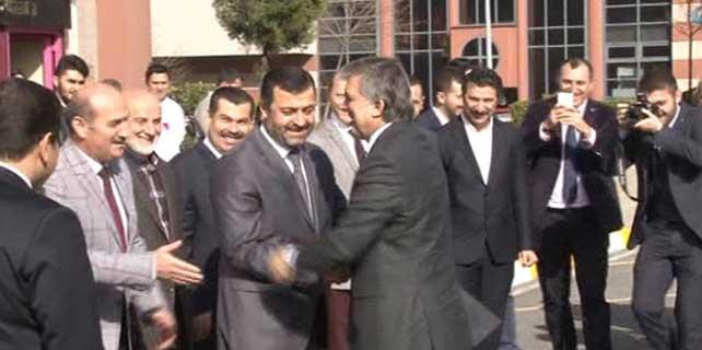 Abdullah Gül esnaf ziyaretinde
