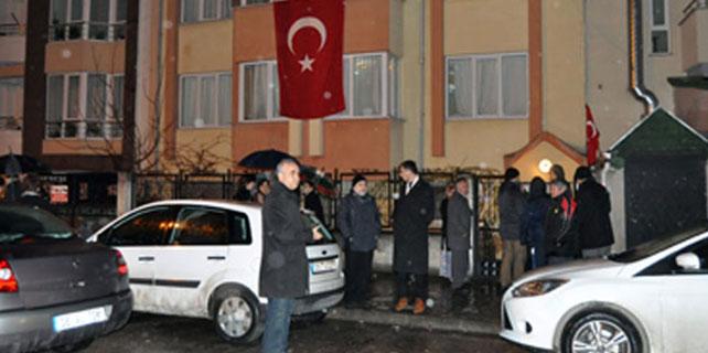 Acı haber Şehit Kurmay Binbaşı'nın evine ulaştı