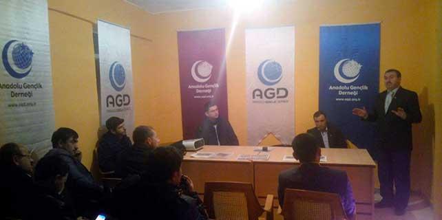 AGD Aksaray şubesinden eğitim toplantısı
