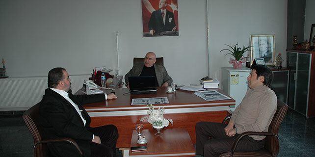 Ahmet Çalışır'dan gazetemize ziyaret