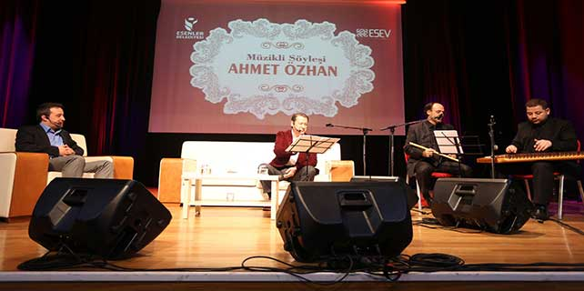 Ahmet Özhan Esenler'e konuk oldu