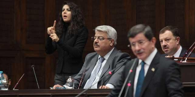 AK Parti Grup toplantısında bir ilk