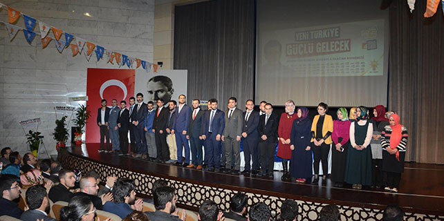 Ak Parti Meram gençlik kolları 4. olağan kongresi yapıldı