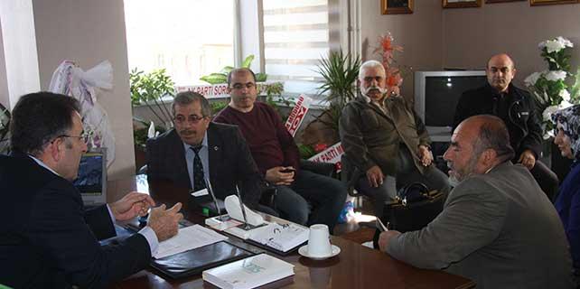 AK Parti Milletvekili Soysal, vatandaşları dinledi