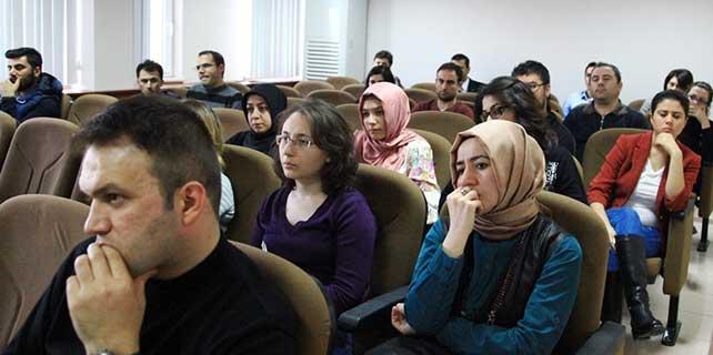 """Aksaray'da """"Helenistik Felsefe"""" konferansı"""