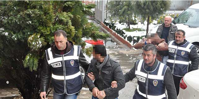 Akşehir'de hırsızlık