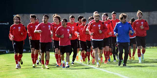 Antalyaspor'da Şanlıurfaspor hazırlıkları