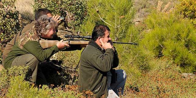 Avcılardan destek