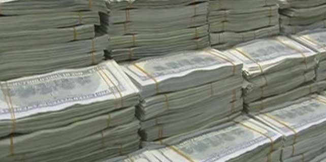 AVM otoparkında 11 milyon dolar sahte dolar
