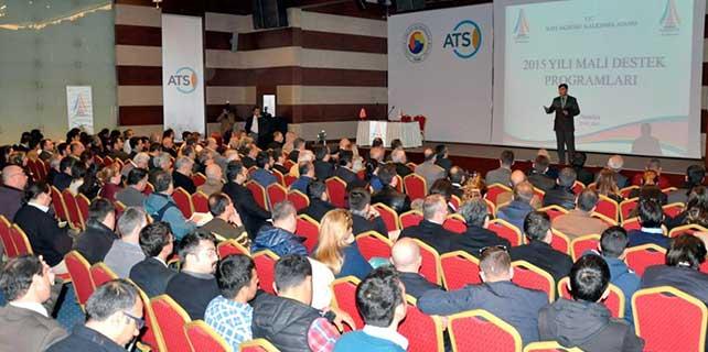 BAKA'nın yeni destek programı Antalya'da anlatıldı