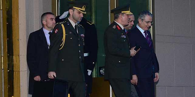 Başbakan Davutoğlu'nun kabulleri