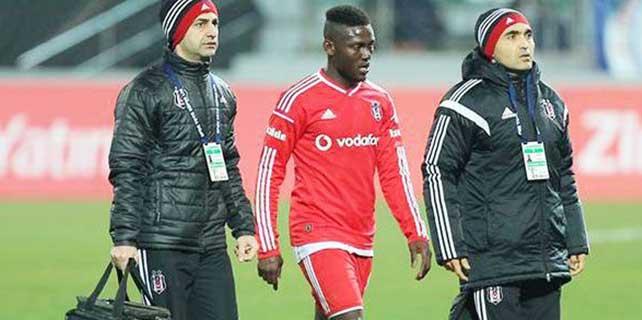 Beşiktaş'ın yeni transferi Milosevic sezonu kapattı