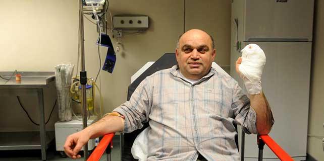 Beyköy Belediye Başkanı Kılıç, tüfeği kazara ateş alınca yaralandı