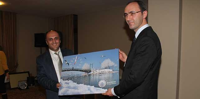 Beyşehir Cumhuriyet Başsavcısı onuruna veda yemeği