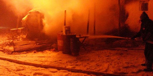 Konya'da yangın: 1 yaralı