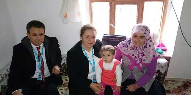 Bozkır Devlet Hastanesi yönetiminden hastalara ziyaret