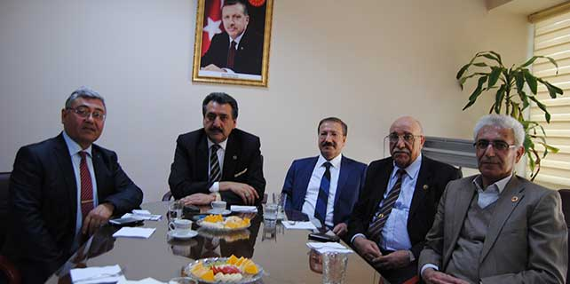 Cihanbeyli Belediye Başkanı Kale'den, Kulu Belediyesine ziyaret